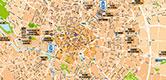 Plan de la périphérie Dijonnaise